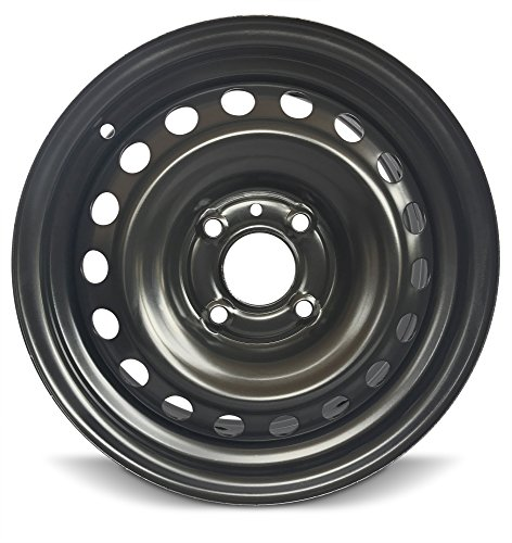 "Road Ready Replacement 15"" Black Steel Wheel Rim For 2007-2012 Nissan Sentra"