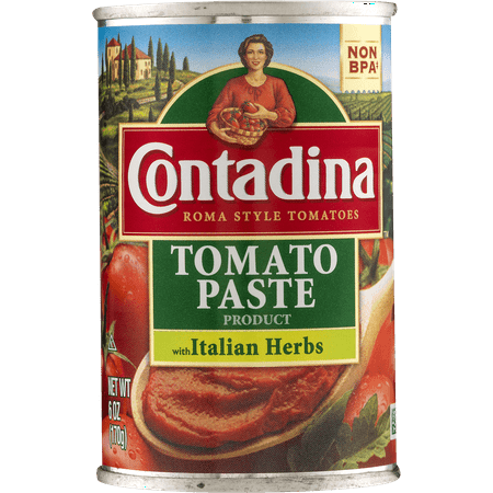 Contadina Tomato Paste With Italian Herbs, 6.0 OZ