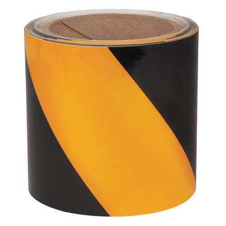 Yellow Black Reflective Marking Tape Incom Manufacturing