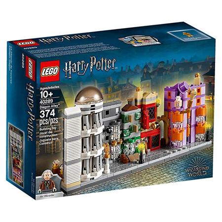 LEGO Harry Potter 40289 Diagon Alley Building Set (374 ...
