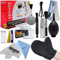 Opteka 19PC Professional Cleaning Set Kit for DSLR Cameras and Electronics (Canon, Nikon, Pentax, Sony)