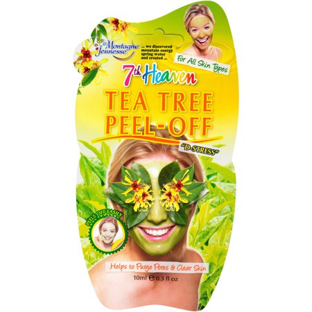 7th Heaven Tea Tree Peel Off Face Mask Soothing 0.3 fl. oz. - Famous People Face Masks