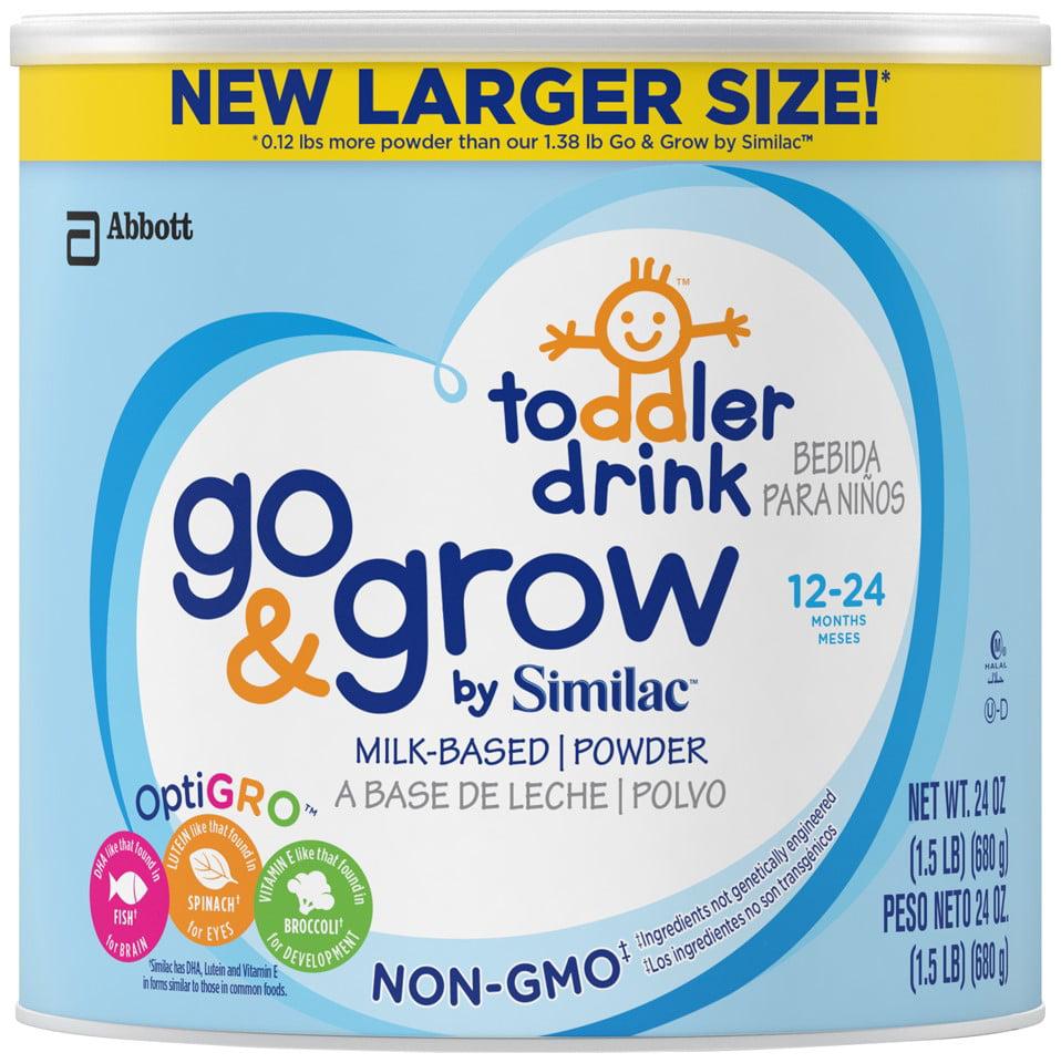 Similac Go & Grow NON-GMO Toddler Drink, Powder, 1.5 lb