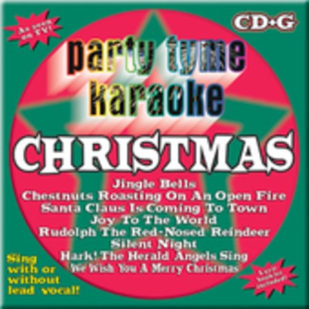 Party Tyme Karaoke: Christmas (CD) (Christmas 2 Karaoke Cd)