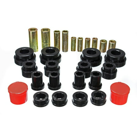 Energy Suspension 02-09 350Z / 03-07 Infinity G35 Black Front Control Arm Bushing Set