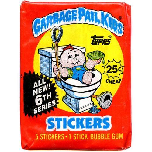 Garbage Pail Kids Series 6 Trading Card Sticker Pack