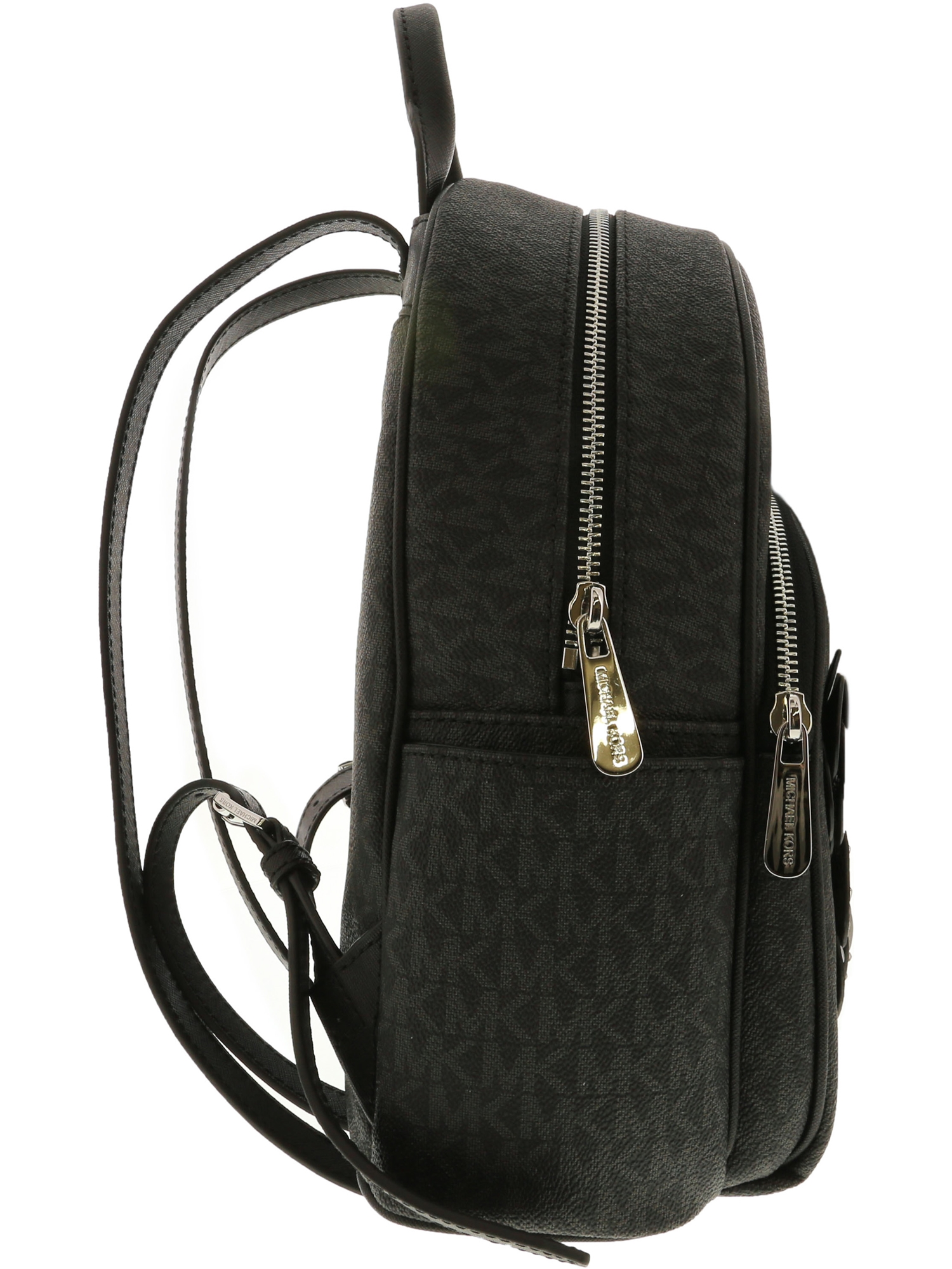 bd2f58e3137a5e Michael Kors - Michael Kors Women's Abbey Medium Leather Backpack - Black -  Walmart.com