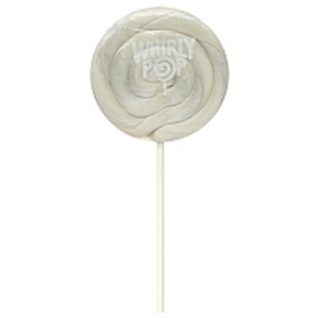 Image of White Whirly Pops 1.5 Oz, (24 Pack)