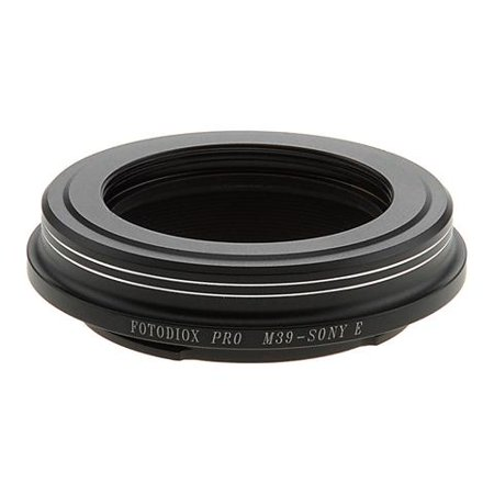 M39 Body (Fotodiox Pro Lens Mount Adapter - M39/L39 Screw Mount SLR Lens to Sony Alpha E-Mount Mirrorless Camera)
