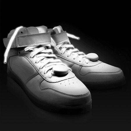 LED Shoe Laces EDM (WHITE)