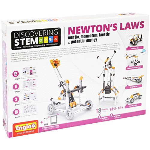 Engino STEM Mechanics, Newton's Laws: Inertia and Energy