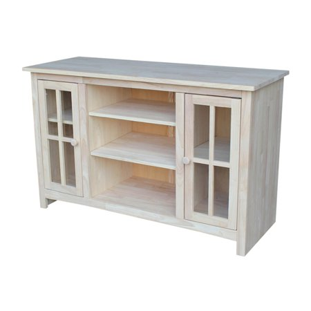 International Concepts Tv 34 Entertainment   Tv Stand   With 2 Doors   48   Ready To Finish