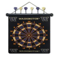 Washington Huskies NCAA Licensed Magnetic Dart Board
