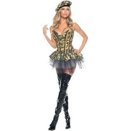 Commando Sassy Adult Halloween Costume