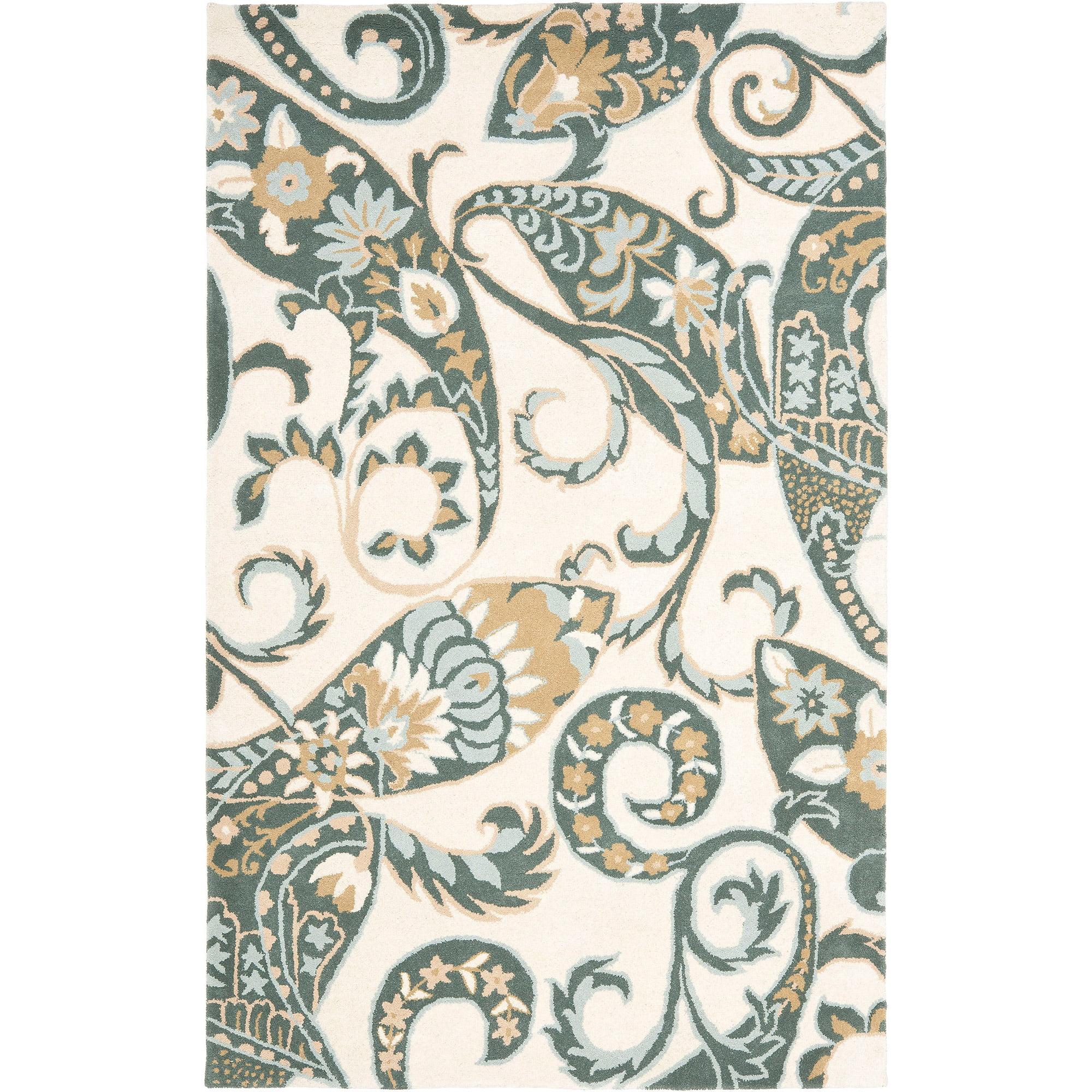 Safavieh Wyndham Terrance Wool Area Rug, Ivory/Multi
