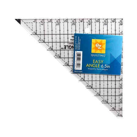 """EZ Acrylic Template Easy Angle 6.5"""""""