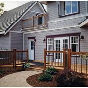 Vista Railing Systems Inc 3 ft. x 6 ft.  Traditional Cedar Straight Deck Railing Panel