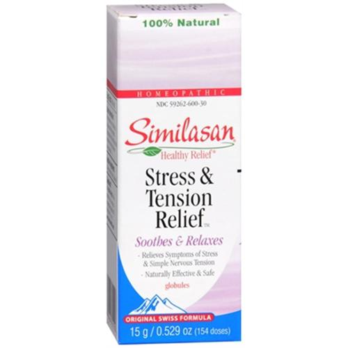 Similasan Stress & Tension Relief Globules 154 Each (Pack of 2)