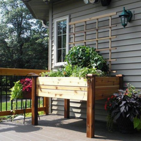 Gronomics Cedar Elevated Planter Box ()