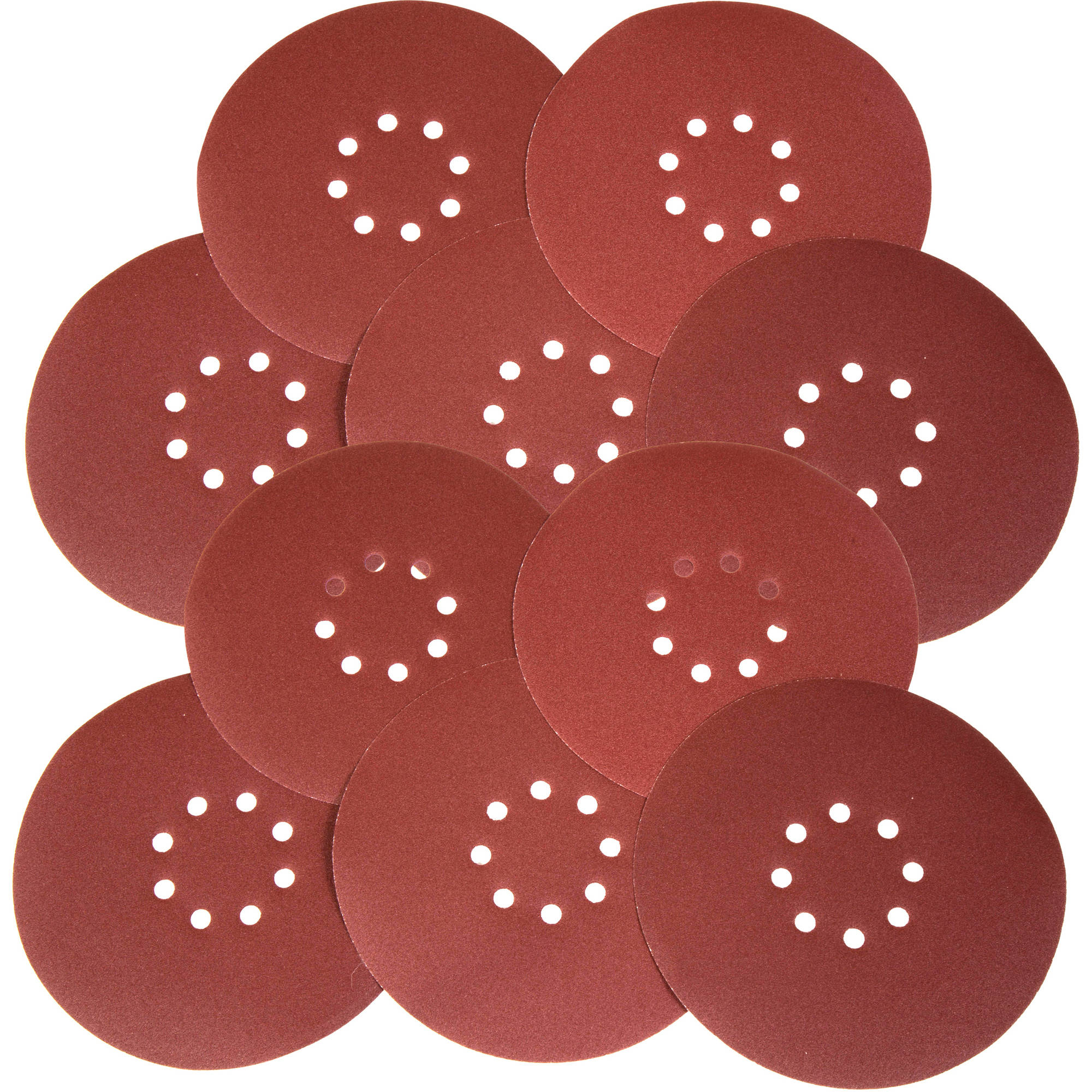 WEN Drywall Sander 60-Grit Hook And Loop 9-Inch Sandpaper, Pack Of 10