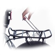 Bicycle Rear Rack Universal Adjustable Bike Cargo Luggage Carrier Rack Heavy Duty Bicycle Back Holder