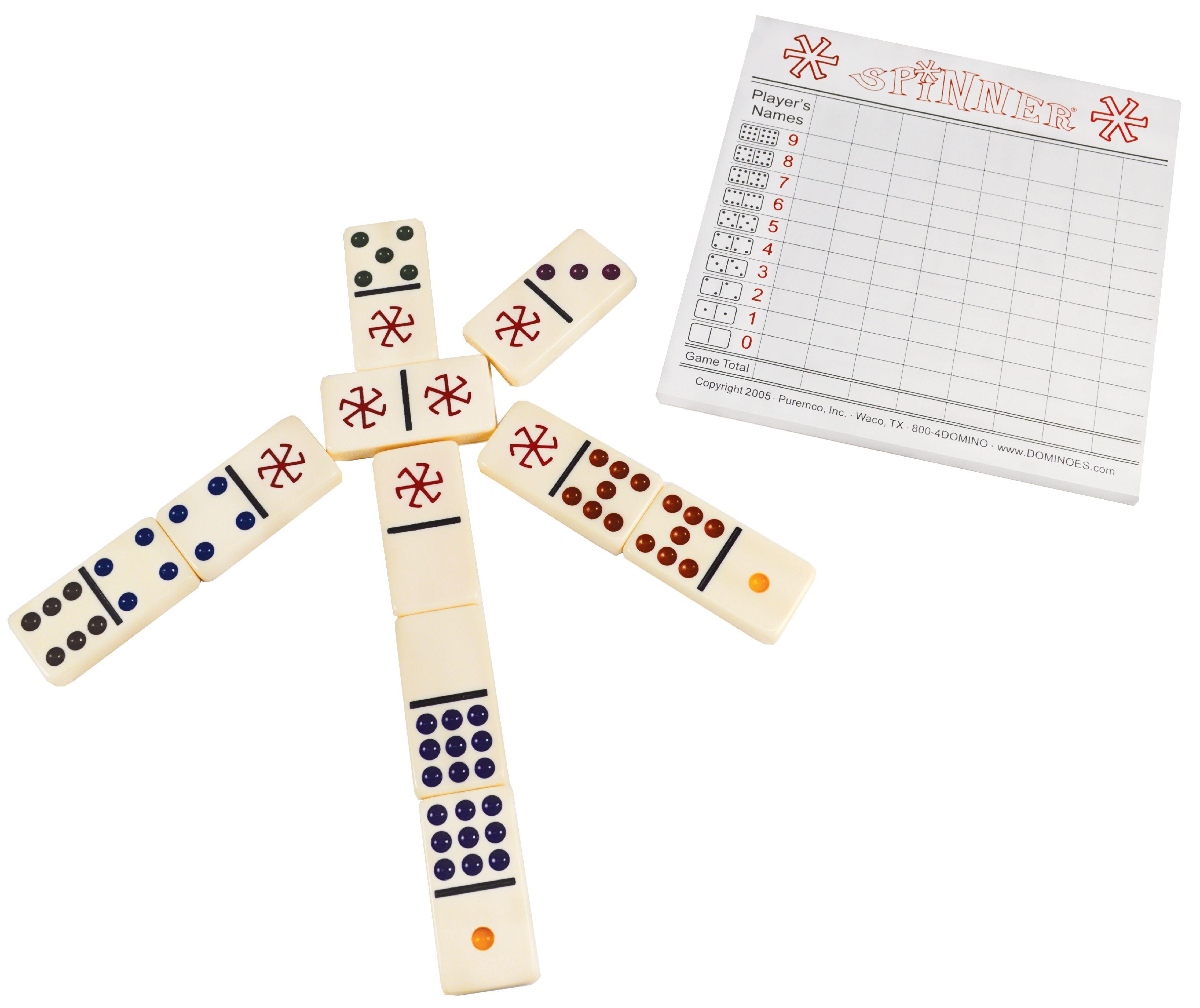 Spinner The Game Of Wild Dominoes Walmart