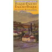 Hippocrene Dictionary & Phrasebook: Basque-English/English-Basque Dictionary & Phrasebook (Paperback)