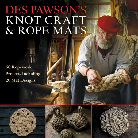 Des Pawson's Knot Craft and Rope Mats : 60 Ropework Projects Including 20 Mat Designs - Elementary School Halloween Craft Projects