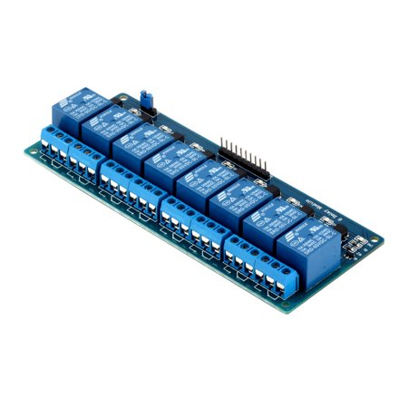 High Quality 5V Eight 8 Channel Relay Module With Optocoupler For Arduino Pic Avr Dsp Arm