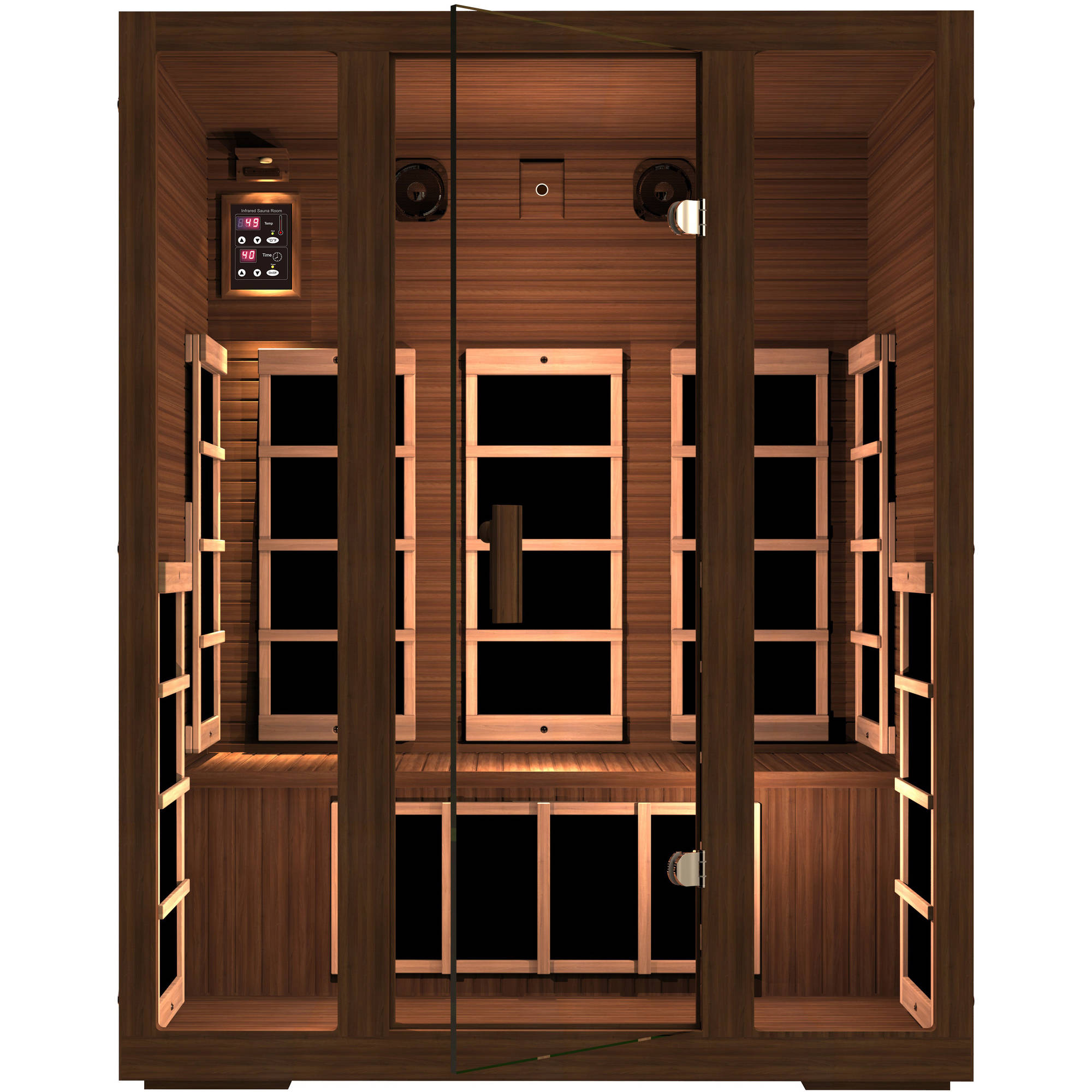 Freedom 3-Person Far Infrared Sauna by JNH Lifestyles