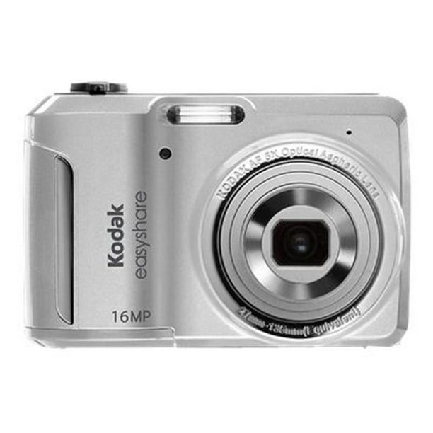 Kodak Easyshare C1550 Digital Camera Compact 16 0 Mp 5x Optical Zoom Silver Walmart Com Walmart Com
