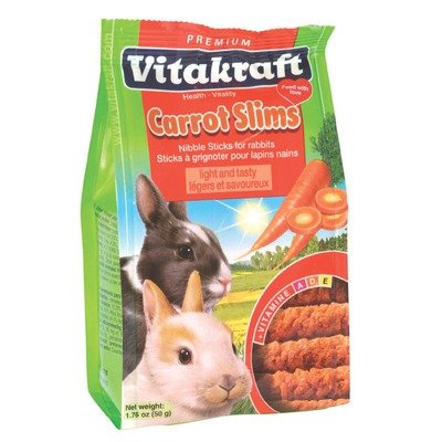 Carrot Slim Rabbit Treat Multi-Colored