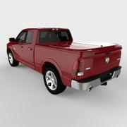 Undercover UC3076L-PR4 09-14 Ram 6.5' LUX Tonneau Cover, Flame Red