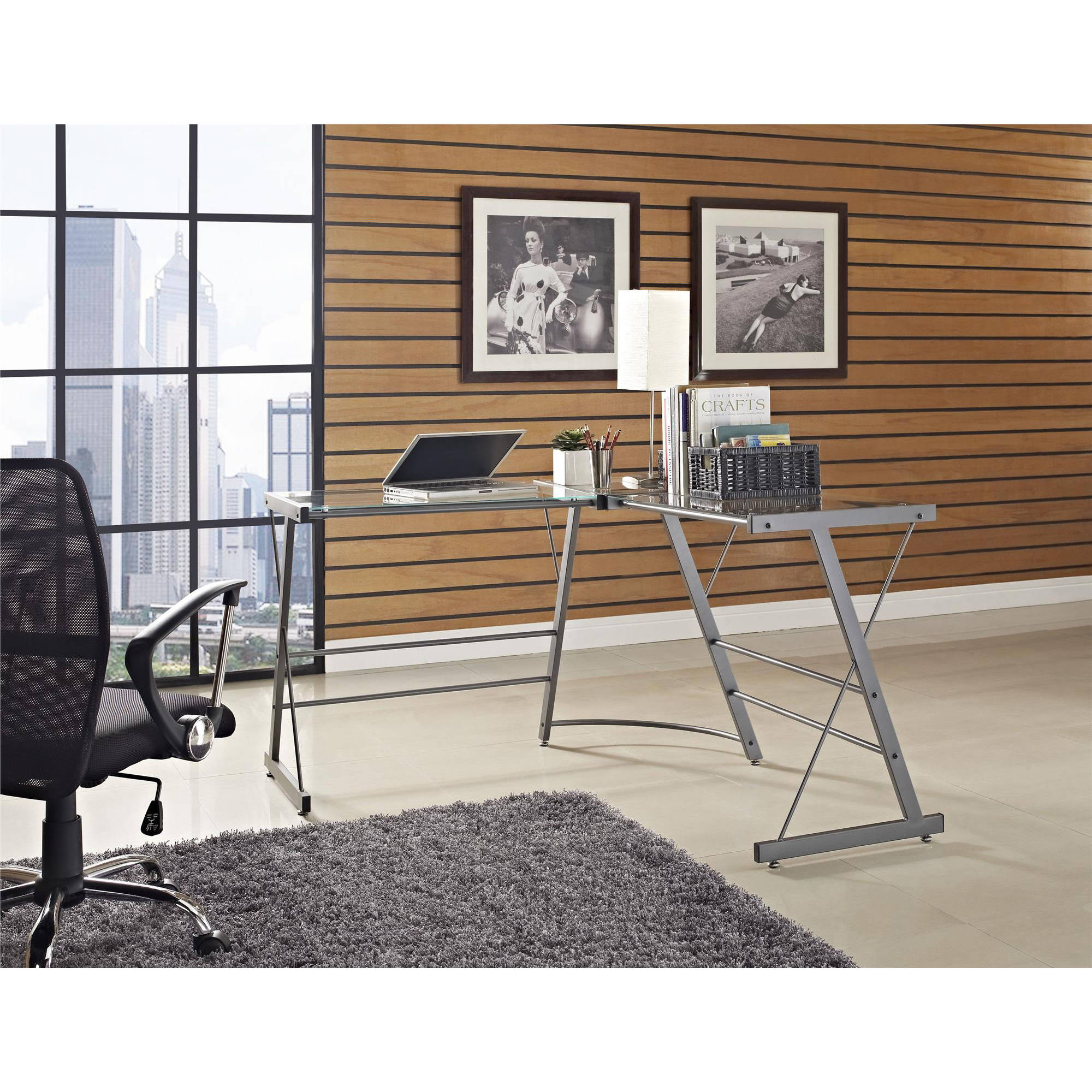 altra furniture glass l shaped computer desk gray bathroomoutstanding black staples office furniture lshaped