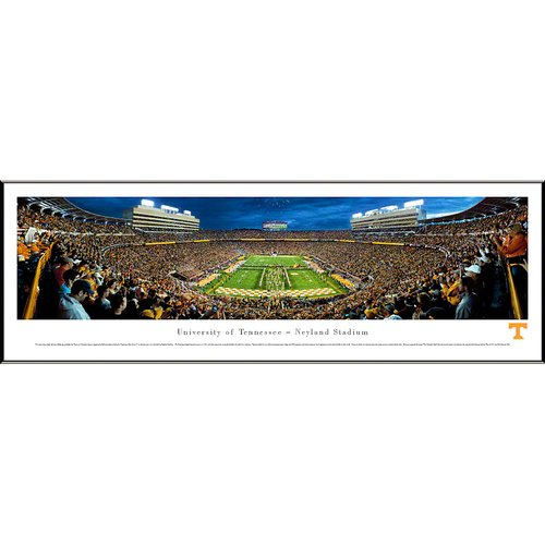 NCAA University of Tennessee - Power T Standard Framed Photographic Print