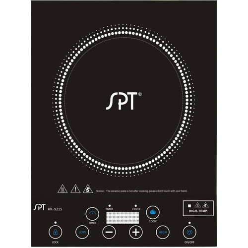Sunpentown 12.25'' Electric Induction Cooktop with 1 Burner