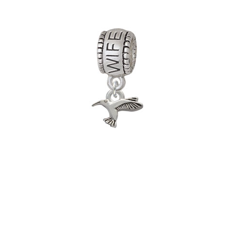 Mini Hummingbird - Wife Charm Bead