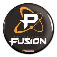 "Philadelphia Fusion WinCraft Team Logo 3"" Button Pin"