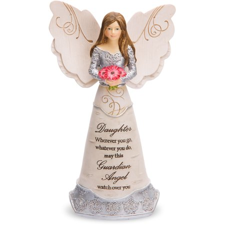 Pavilion Gift Company- Daughter Guardian Angel Figurine, 6 Inch