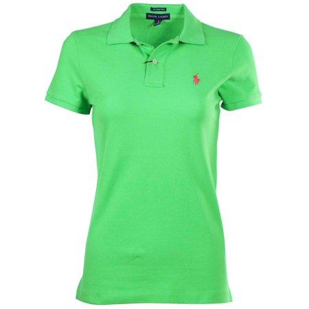 Ralph Lauren Mesh Shirt Women's Classic Fit Polo BxedWCor