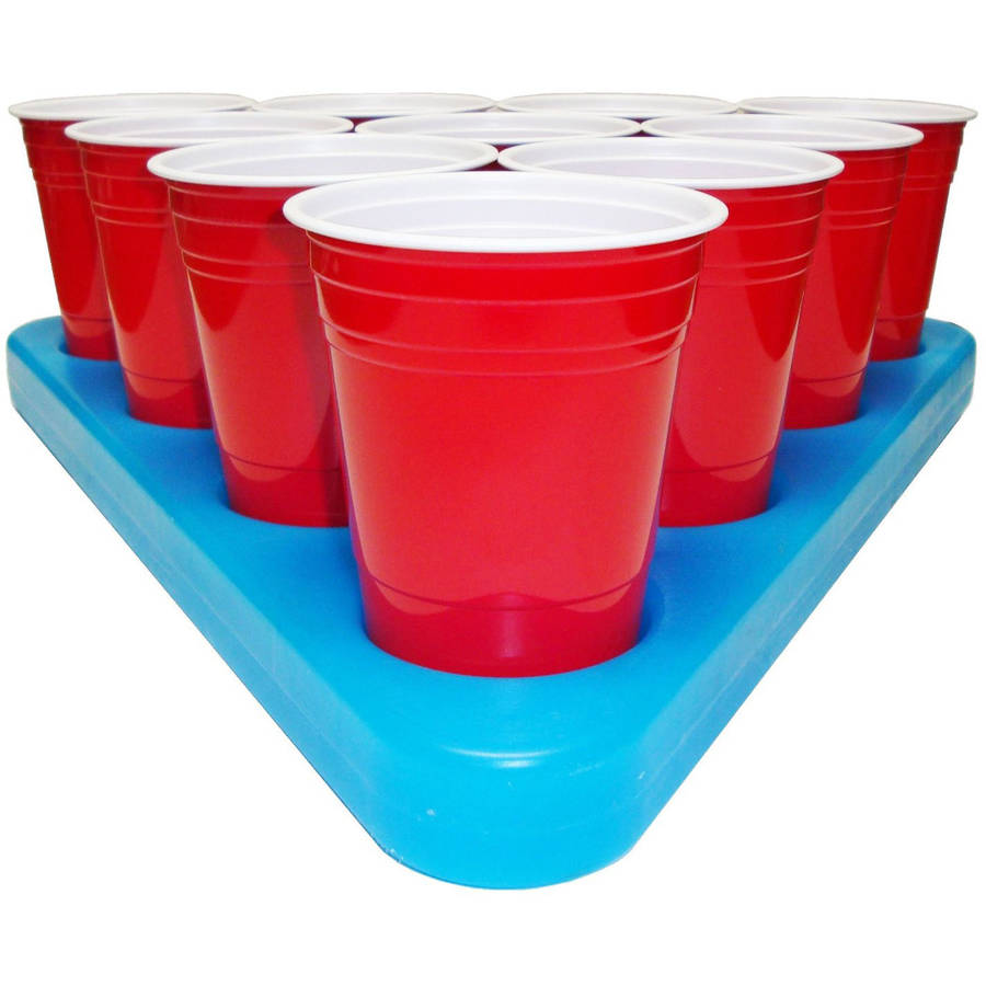 Tables Sporting Goods Freezable Beer Pong Rack Rules Set Home Games Parties Tailgates Tournaments