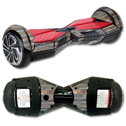 MightySkins Protective Vinyl Skin Decal for Board Balance Board Scooter 2 wrap cover sticker skins Gray Wood