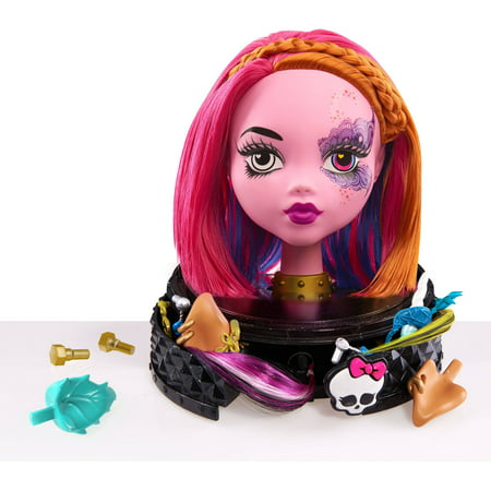 Monster High Gore-geous Ghoul Styling Head, Pink - Monster High Walmart