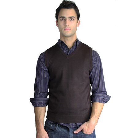 - Men's Solid Sweater Vest