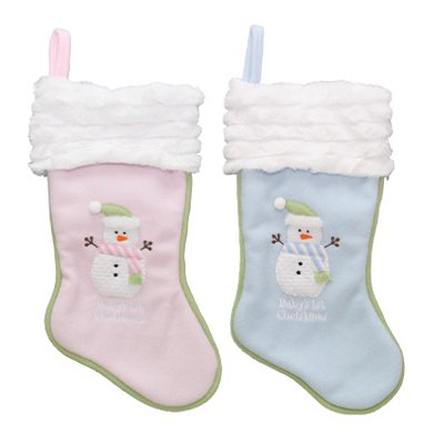 dyno seasonal solutions 1167475cc babys first christmas stocking plush assorted