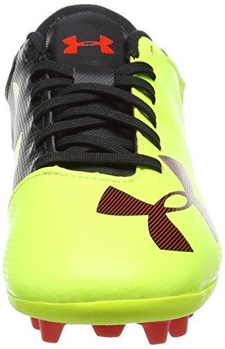 New Under Armour Boy/'s UA Spotlight DL FG JR Soccer Cleats High-Vis Yellow