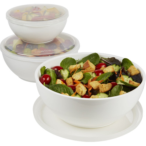 Fit & Fresh 6-Piece Serving Bowl Set