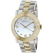 Women's Two-Tone Amy Glitz Steel Watch MBM3139