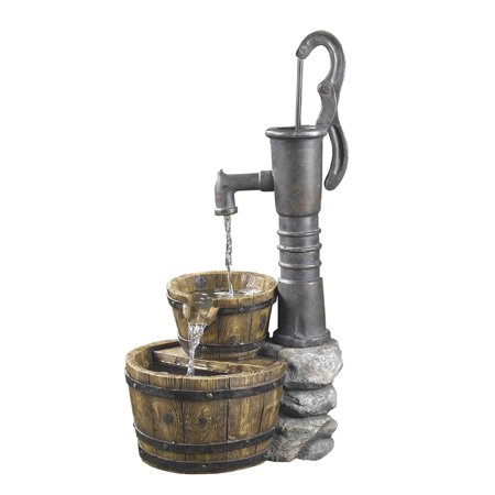 Jeco Inc Old Fashion Water Pump Fountain
