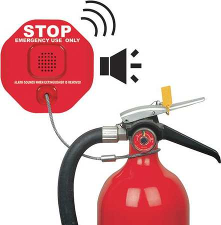 Wireless Fire Extinguisher Alarm, Safety Technology International, STI-6200WIR